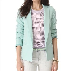 Club Monaco Jackets & Coats - Club Monaco Karina mint Tiffany blue blazer jacket